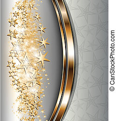 Abstract background gold.