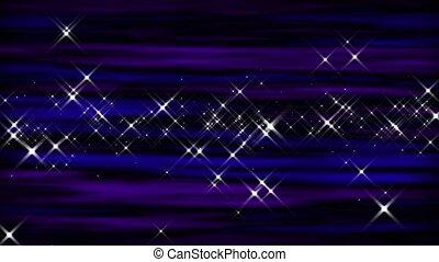 Starburst Violet-Cobalt Loop