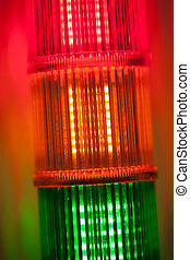 abstract signal lights