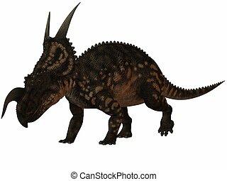 Einiosaurus - 3D Render of an Einiosaurus-3D Dinosaur