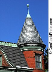 roof top - round soaring roof top in saratoga