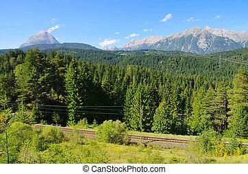 Wettersteingebirge Alps 01