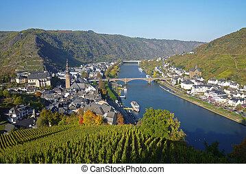 Cochem, Mosel, Deutschland, Europa - Cochem, Mosel River,...