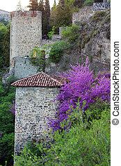 Géorgie,  tbilisi, République, château, ruines,  narikala