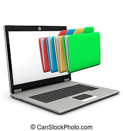 Folders Notebook