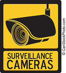 Security Camera - Illustration of security camera, security...