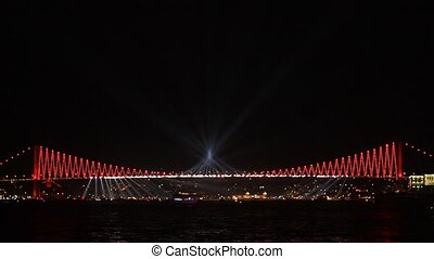 Let's beginning the show - Istanbul celebrates to...