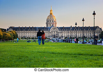 Les Invalides, Paris, France - Les Invalides museum, Paris,...
