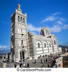 Notre Dame de la Garde, Marseille, France - Notre Dame de la...