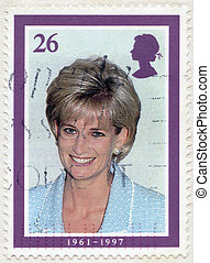 GREAT BRITAIN - CIRCA 1998: A stamp printed in Great Britain...