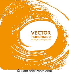 orange background for your text - Vector beautiful orange...