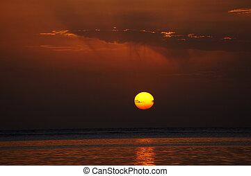 Sunrise - Sunrising over the Red sea