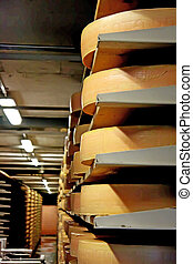 Cheese storage