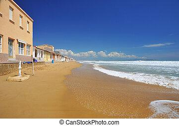 Beach in Guardamar del Segura