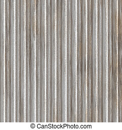 Corrugated metal surface with corrosion texture seamless...
