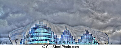 The Sage Building in Newcastle Upon Tyne - Contemporary...
