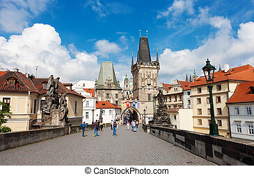 Stare Mesto (Old Town) view, Prague, Czech Republic
