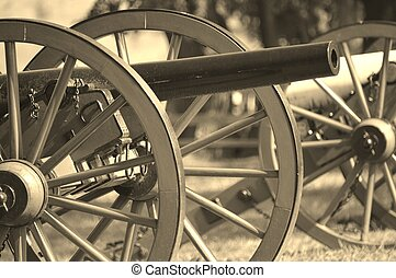 Civil War Cannon - Civil war cannon at Gettysburg