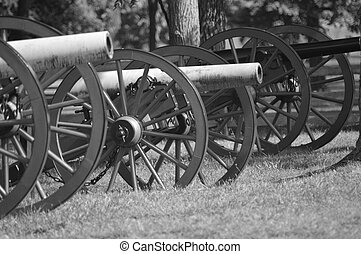 Cannons - Civil War cannons