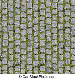 Stone Block Seamless Tileable Texture - Stone Block with...