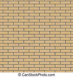 Brick Wall Texture Seamlessly Tileable. (more seamless...