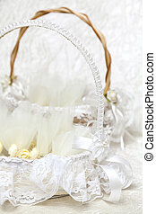 Wedding Favors - Elegant Wedding Favors decorated with...