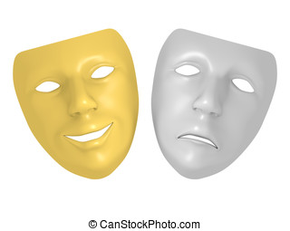 Theater mask Stock Illustrations. 4,940 Theater mask clip art ...