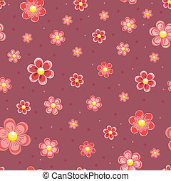 Texture seamless flowers