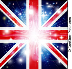 Union Jack flag background - Union Jack flag of United...