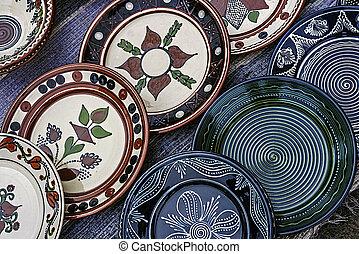Folk pottery 3