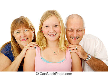Blond Blue Eyed Family - Beautiful blond, blue eyed family....