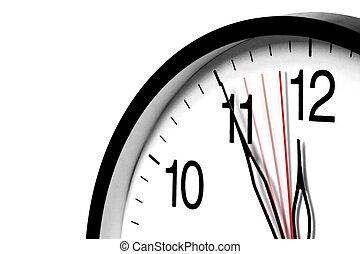 Five Minutes To Twelve - Wall clock ,5 minutes to twelve and...