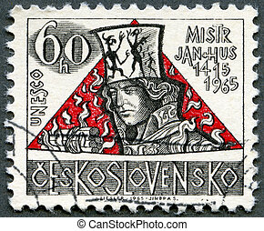 CZECHOSLOVAKIA - CIRCA 1965: A stamp printed in...