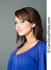 Glamorous Attractive Latina - a young latina all dolled up...