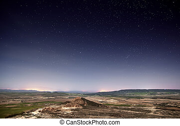 Stars over the desert