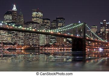 Manhattan, Éjszaka
