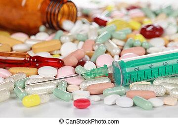 prescripción, drogas