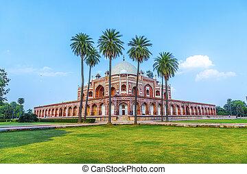 Humayuns Tomb Delhi, India