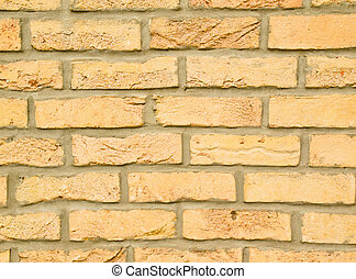 yellow Brick - the yellow brick wall skirting, interesting...