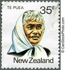 NEW ZEALAND - 1980: shows Princess Te Puea Herangi 1883-1952...