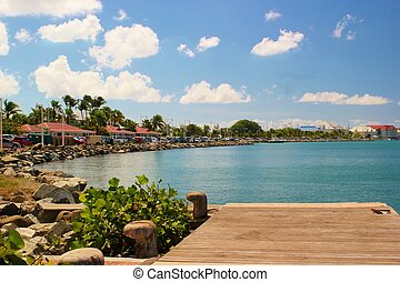 Coastal views of St Martin 3 - Beautiful view of the capital...
