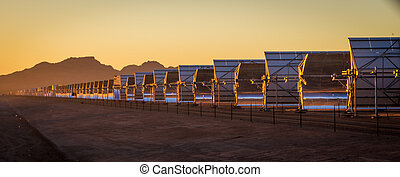 Solar City - In Gila Bend, AZ, this solar installation goes...