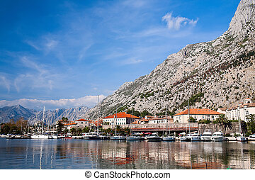 Kotor bay, UNESCO heritage site, Montenegro, Europe