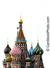St. Basil\\\'s Cathedral - a photo of st. Basil\\\'s...