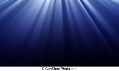 Light Rays - Light rays shine from the top of the screen...