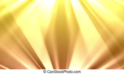 Dual Light Rays - Light rays shine from the top and bottom...