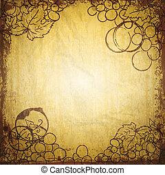 Vintage wine paper - Vintage wine and winemaking paper...