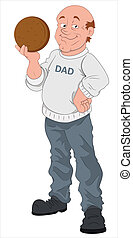 Father's Day Vector Character