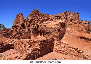 Wupatki Pueblo national monument - Wupatki national monument...
