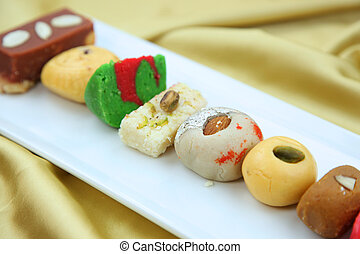 Sweets of India - Variety of delicious Indian sweets